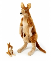 Knuffel kangoeroe extra groot