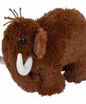 Knuffel mammoet bruin 26 cm knuffels kopen