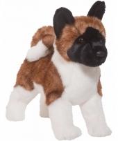Knuffel pup hond akita hond 41 cm