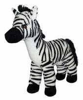 Knuffel zebra 32 cm