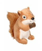 Knuffeldier eekhoorns 14 cm