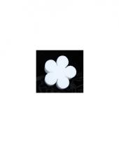 Knutsel bloem van piepschuim 15 cm