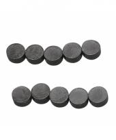 Knutsel magneten 10 stuks rond 8x4mm
