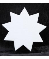 Knutsel ster van piepschuim 10 cm 10077493
