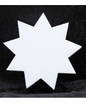Knutsel ster van piepschuim 20 cm 10077494