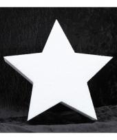 Knutsel ster van piepschuim 20 cm