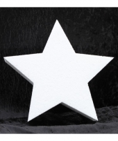 Knutsel ster van piepschuim 30 cm