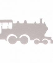 Knutsel trein van piepschuim 40 cm
