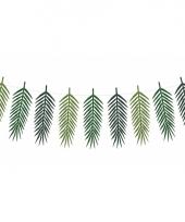 Knutselpakket palmboom bladeren slinger