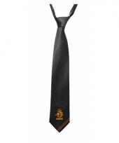 Knvb stropdas zwart voor volwassenen
