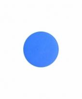 Kobalt blauwe aqua schmink