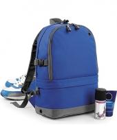 Kobaltblauwe backpack 18 liter