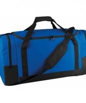 Kobaltblauwe sporttas 85 liter