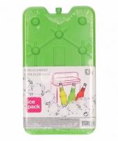 Koelbox element groen 25 x 14 cm