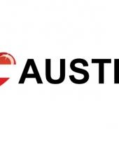 Koffer stickers i love austria