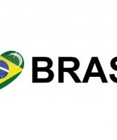 Koffer stickers i love brasil