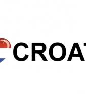 Koffer stickers i love croatia