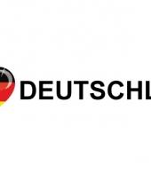 Koffer stickers i love deutschland