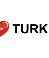 Koffer stickers i love turkije