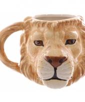 Koffie mok leeuw 400 ml