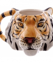 Koffie mok tijger 400 ml