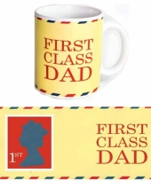 Koffie mok voor vader 300 ml