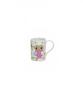 Koffie thee melk mok 250 ml roze