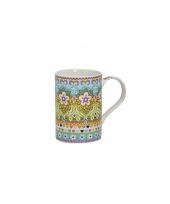 Koffie thee melk mok flower power 10080388