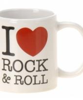 Koffiebeker rock roll keramiek