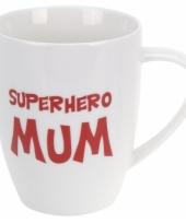 Koffiebeker superhero mum porselein