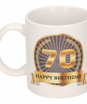Koffiemok verjaardag 70 jaar 300 ml