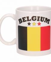 Koffiemok vlag belgie 300 ml