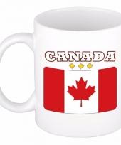 Koffiemok vlag canada 300 ml