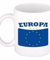 Koffiemok vlag europa 300 ml