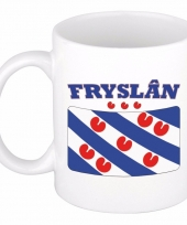 Koffiemok vlag friesland 300 ml