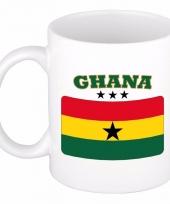 Koffiemok vlag ghana 300 ml