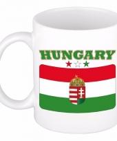 Koffiemok vlag hongarije 300 ml