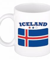 Koffiemok vlag ijsland 300 ml