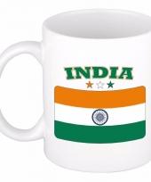 Koffiemok vlag india 300 ml