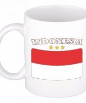 Koffiemok vlag indonesie 300 ml
