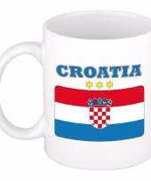 Koffiemok vlag kroatie 300 ml