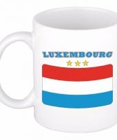 Koffiemok vlag luxemburg 300 ml