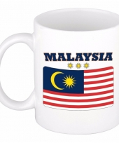 Koffiemok vlag maleisie 300 ml