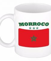 Koffiemok vlag marokko 300 ml