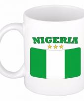 Koffiemok vlag nigeria 300 ml