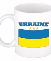 Koffiemok vlag oekraine 300 ml
