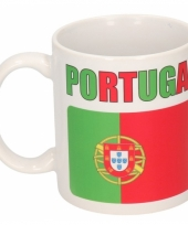 Koffiemok vlag portugal 300 ml