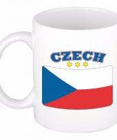 Koffiemok vlag tsjechie 300 ml