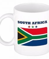 Koffiemok vlag zuid afrika 300 ml