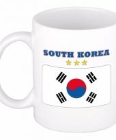 Koffiemok vlag zuid korea 300 ml